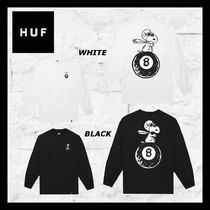 HUF Crew Neck Pullovers Unisex Street Style Collaboration