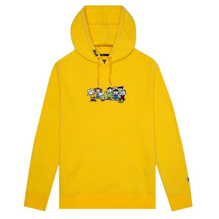 HUF Hoodies Pullovers Unisex Street Style Collaboration Long Sleeves 3