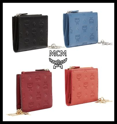 Street Style Leather Folding Wallets