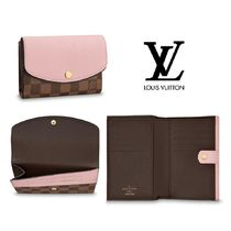 Louis Vuitton Monogram Leather Small Wallet Folding Wallets