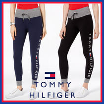 Tommy Hilfiger Casual Style Street Style Plain Cotton Long Pants