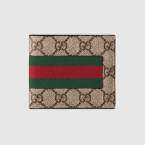 GUCCI GG Supreme Folding Wallet Folding Wallets