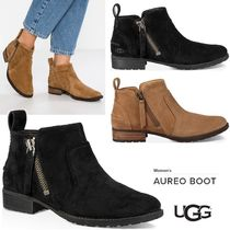 UGG Australia Plain Toe Rubber Sole Suede Plain Ankle & Booties Boots