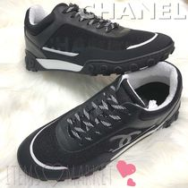 CHANEL Casual Style Unisex Low-Top Sneakers
