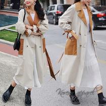 Casual Style Long Chester Coats