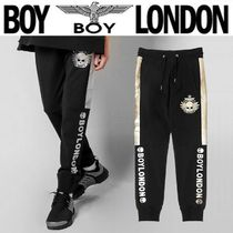 BOY LONDON Skull Unisex Street Style Other Animal Patterns Cotton