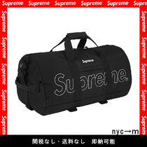 Supreme Street Style Boston Bags