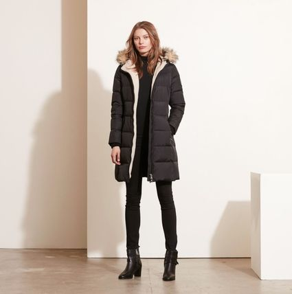 Ralph Lauren Down Jackets Faux Fur Plain Long Down Jackets 2