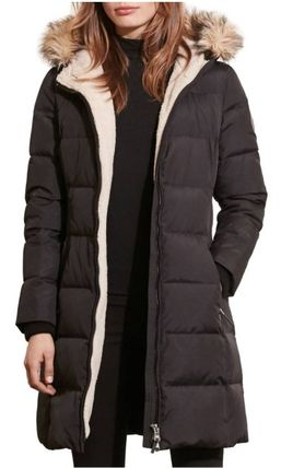 Ralph Lauren Down Jackets Faux Fur Plain Long Down Jackets 3