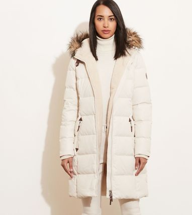 Ralph Lauren Down Jackets Faux Fur Plain Long Down Jackets 8