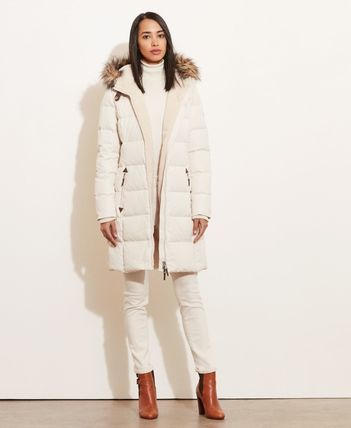 Ralph Lauren Down Jackets Faux Fur Plain Long Down Jackets 9