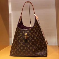 Louis Vuitton MONOGRAM Monogram Canvas Blended Fabrics Bi-color Elegant Style