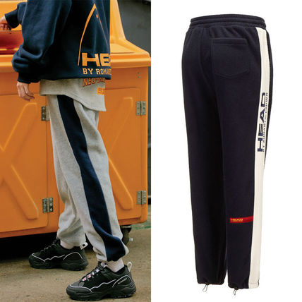 Casual Style Unisex Street Style Collaboration Plain Long
