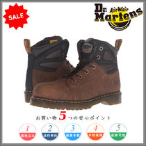 Dr Martens Plain Leather Engineer Boots