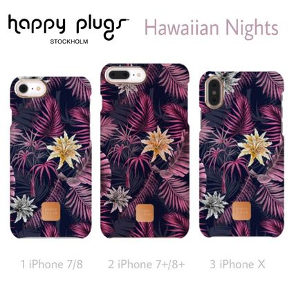 Flower Patterns Tropical Patterns Unisex Blended Fabrics