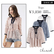 Chicwish Flower Patterns Shirts & Blouses