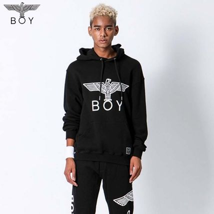 b8c0cd8232 BOY LONDON 2018-19AW Pullovers Unisex Street Style Long Sleeves by ...