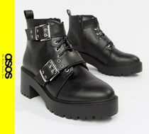 ASOS Casual Style Faux Fur Boots Boots