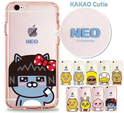 Unisex Street Style Silicon Smart Phone Cases