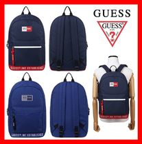 Guess Unisex Street Style Backpacks