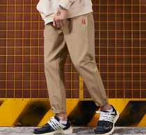 Tapered Pants Street Style Plain Tapered Pants