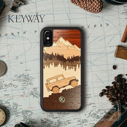 Unisex Handmade Made of Wood iPhone 8 iPhone 8 Plus iPhone X