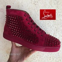 Christian Louboutin LOUIS Studded Sneakers