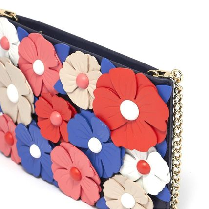 kate spade new york Shoulder Bags Flower Patterns Casual Style Leather Shoulder Bags 5