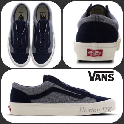 7e9a10eeff4cb VANS OLD SKOOL Street Style Bi-color Leather Sneakers by hoxton-uk ...