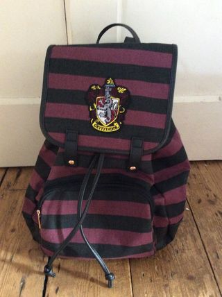 Stripes Casual Style Canvas Collaboration A4 Backpacks