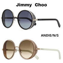 Jimmy Choo Round Sunglasses