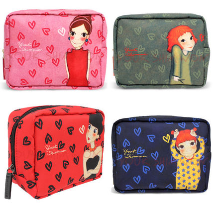 Heart Pouches & Cosmetic Bags
