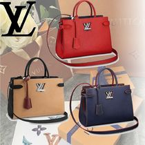 Louis Vuitton EPI 2WAY Leather Handbags