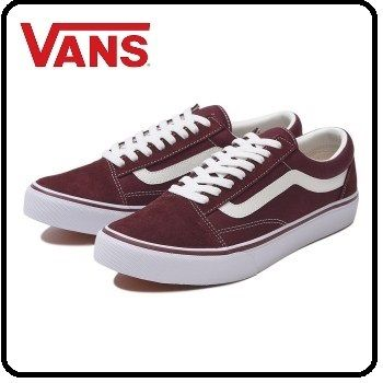 VANS OLD SKOOL 2018-19AW Suede Street Style Sneakers (BURGUNDY) by ... 615cc0dbf