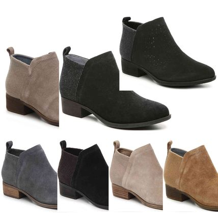 Suede Ankle & Booties Boots