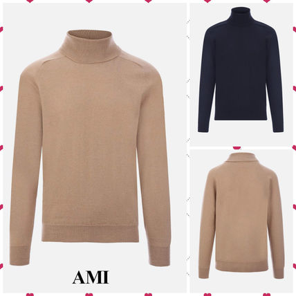 Wool Long Sleeves Knits & Sweaters