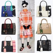 MARC JACOBS Casual Style Street Style 2WAY Bi-color Leather