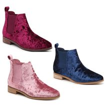TOMS Velvet Ankle & Booties Boots