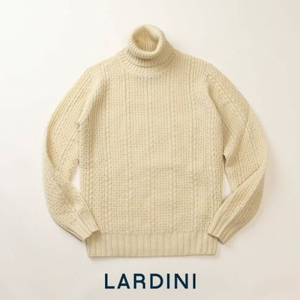 Cashmere Long Sleeves Plain Knits & Sweaters