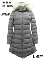 Unisex Wool Long Down Jackets