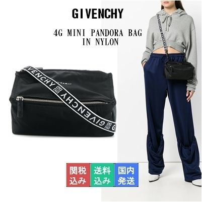 b1efcf599d GIVENCHY PANDORA 2018-19AW Nylon 2WAY Shoulder Bags (BB500QB06B 001 ...
