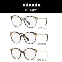 MiuMiu Round Optical Eyewear