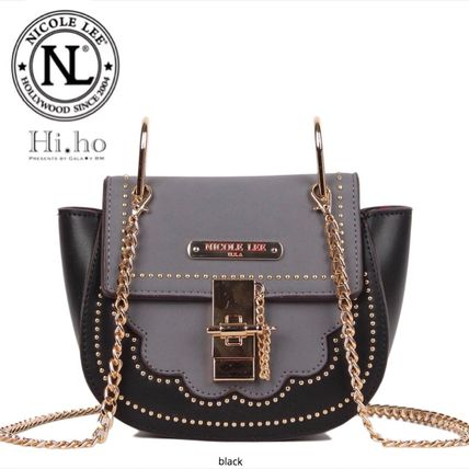 Casual Style Chain Crossbody Small Shoulder Bag