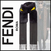 FENDI BAG BUGS Plain Scarves