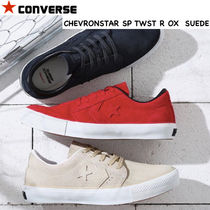 CONVERSE Star Casual Style Unisex Suede Street Style Plain