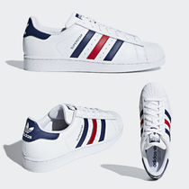 adidas SUPERSTAR Unisex Leather Low-Top Sneakers