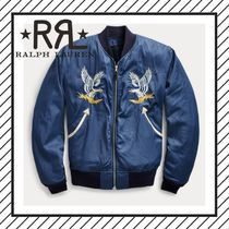 RRL Short Street Style Other Animal Patterns Souvenir Jackets