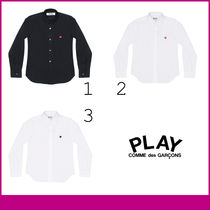 PLAY COMME des GARCONS Long Sleeves Plain Shirts & Blouses