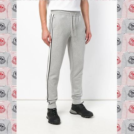 7a8f71c4aadc MONCLER 2018-19AW Stripes Plain Cotton Joggers   Sweatpants by ...