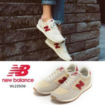 New Balance Casual Style Suede Street Style Plain Low-Top Sneakers